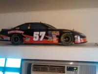 Big 1/6 scale nascar rc car. About 3 foot long. Very