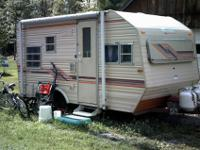 Have 16 foot camping trailer for sale. Is fully self