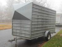 Enclosed trailer for sale. 14 ft long and 7ft wide.