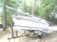 Sailboat Hunter 18.5 sailboat With trailer! $1600.00 or