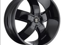 "Selling 2Crave no.18 Rims. 22"" Inch Black with like NEW"