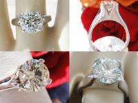 This is a 1.60CT Round Brilliant Diamond Engagement