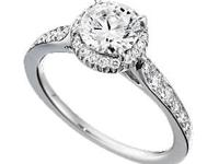 1.62ct Round Brilliant Engagement Ring Gem Dynasty