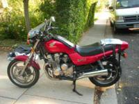 '93 Honda Nighthawk 750 30k miles well maintained by