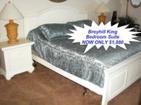 Here is a Stunning Plantation Style King Bedroom Set by