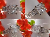 I am selling this brand new 1.69CT Cushion Cut GIA