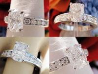 1.69CT Cushion Diamond Engagement Ring EGL USA