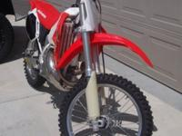 Low hour 2001 CR500 in excellent shape. It has a new