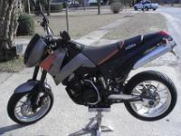 2001 KTM LC4 640 Duke. It currently only has 2900