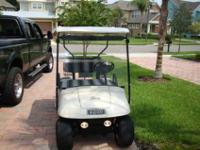 Occasional Use since New in 1998. 2 Seat White EZGO