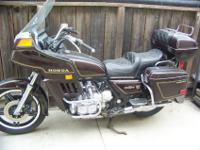 1981 Honda Goldwing, 1100 Interstate, Full Dressed
