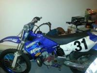 I have a Yamaha yz 250 for sale with clean title . The