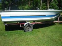 Selling my 1970 starcraft deep V boat with trailer and