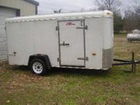 For sale here is my 2002 model 6 wide by twelve long by