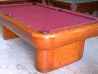 Brunswick Gibson 8' Pool Table, FREE Professional