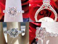 1.75CT Round Brilliant Diamond Engagement Ring