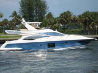 2011 Azimut 58 FLYBRIDGE In the Fly bridge range, the