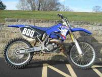 2005 YAMAHA YZ125, Team Yamaha Blue/White,