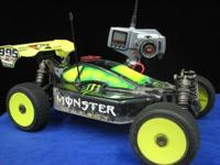 I have 3 Jammin CR X1 1/8 scale racing buggies, starter