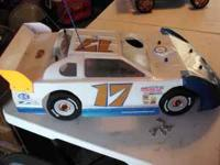 1/8 SCALE OFNA DIRT LATE MODEL WITH 2001 NOVA ROSSI BF