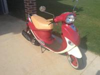 Bought brand new for $3,300. Asking $1,800 for scooter