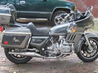 1983 Honda Goldwing GL1100 Aspencade50,700 miles. New