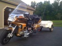 1985 Honda Goldwing GL 1200 WITH TIME OUT TRAILER.