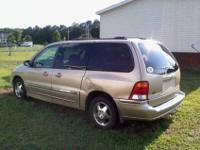 I have a Gold Ford Windstar,with all power,Leather