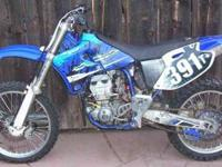 I am selling this 1999 yz400 F It is in good condition.