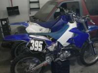 Hi. Forsale I got 2 2001 yz 125's. Both bikes run great