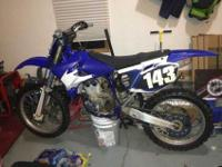 hello have a mint 2004 yz450f bike is so clean has nice