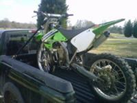 Nearly stock KX250 for sale. I bought this bike used