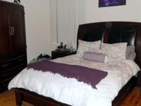 Beautiful bedroom set, 3 yrs old. In great condition.