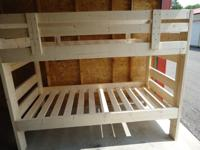 1-800 BUNKBED. CUSTOMIZED MADE BY A LOCAL CRAFTSMAN.