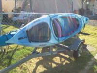 I have two 10 feet Kayak's for sale I am only selling