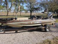 1978 Ranger Aztec 1750v fishing boat with 1986 110 hp