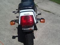 1984 Honda Sabre VF1100. The bike has 94 thousand miles
