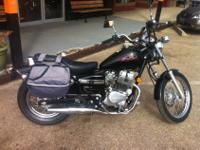 We are selling a 2006 Honda 250 Rebel. It has 10,897