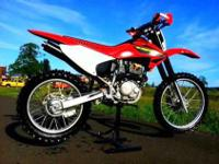 2003 CRF 230R. Newer rear tire, electric start only,