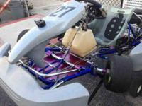 Go kart for sale. Rotax 125 CC engine in great