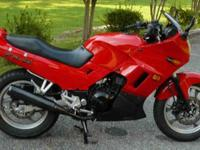 1998 Kawasaki EN500 Ninja, 10,600 miles. Owned and