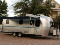 Beautiful 1999 Airstream Safari Wide-Body trailer being