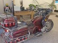 This is a 1983 Honda Goldwing 1100 Interstate for sale.