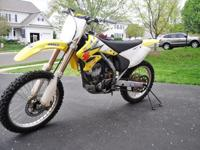 Up for sale is my 2004 Suzuki RMZ 250 4-stroke. Very