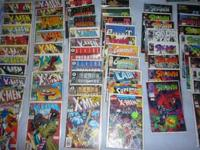 Comic Books from the 90's, in Superior Condition! Most