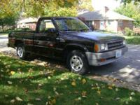 1989 Mazda B2200, SE-5 pick up truck for sale. Short