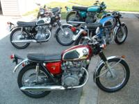 old vintage motorcycles for sale -prices vary -sold