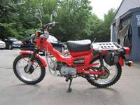 1981 Honda CT110 Trail Motorcycle with only 3K original