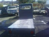 Gray Taylor Dunn Utility Cart for sale. This utility