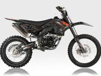 250 CC DIRT BIKE, 5 SPEED WITH MANUAL CLUTCH, WITH